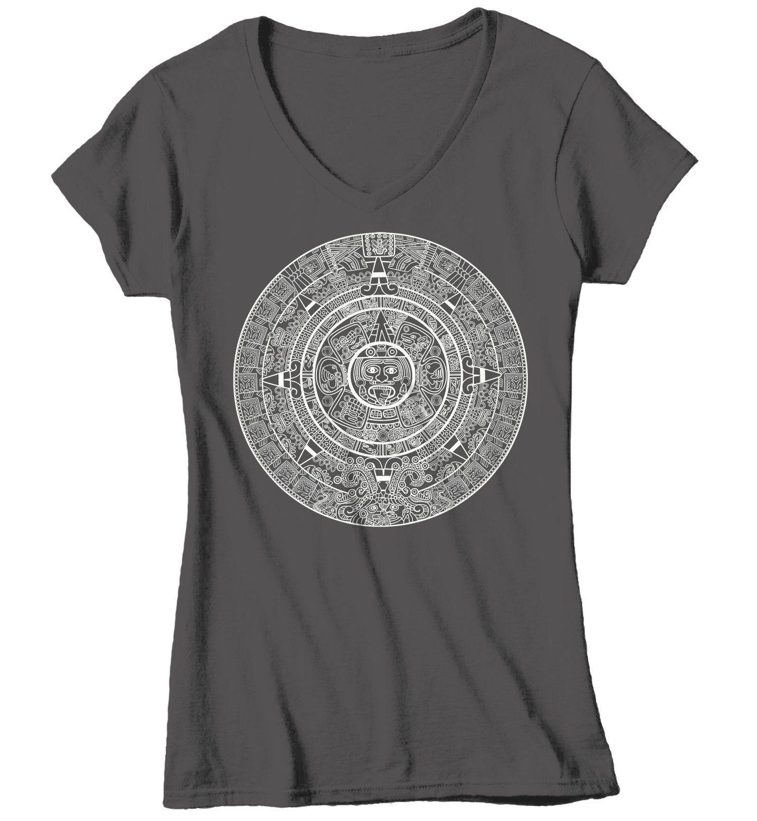 Ladies Aztec Calendar T-Shirt