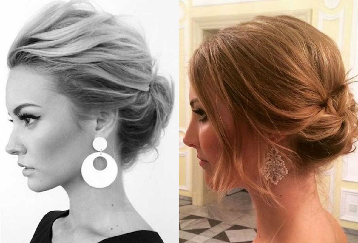11 Beautiful Photo of Short Hair Updo Hairstyle - Lifestyle by