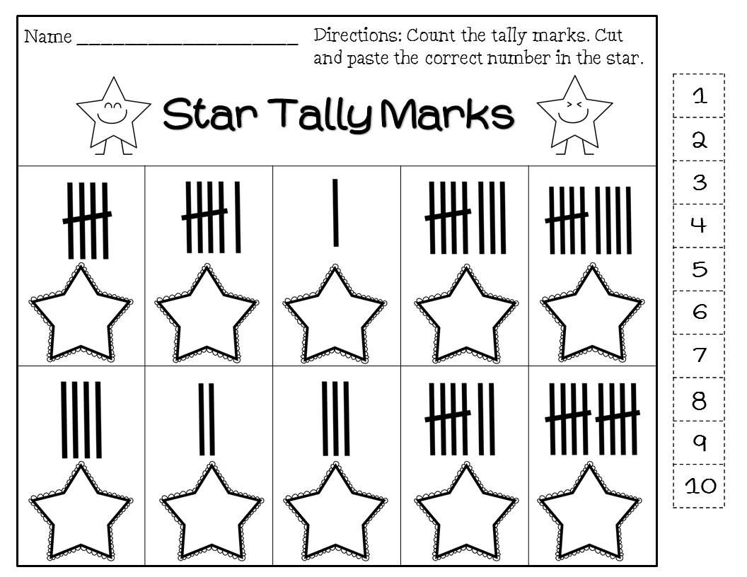 Counting By 5 S Packet Tally Marks Minutes On The Clock