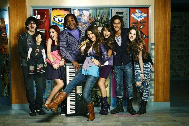 Victorious Tv Show Colouring Pages Victorious Tv Show Victorious Nickelodeon Victorious Cast