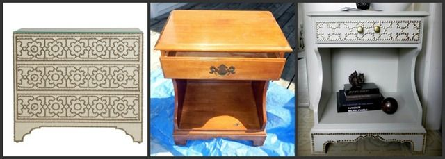 """The architectural digest chest knockoff challenge from """"So You Think You're Crafty"""".  Very good job!  I love it!"""