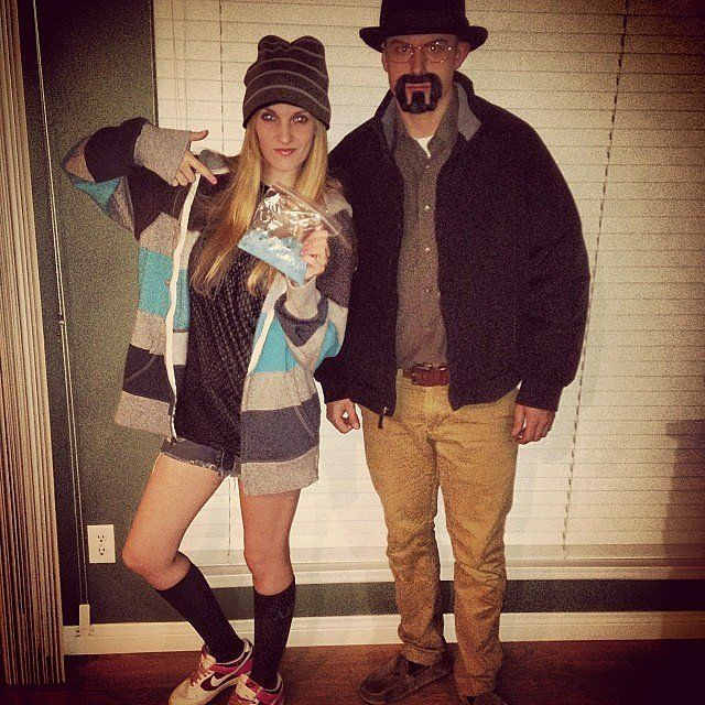 50 last minute couples costumes that require little to no effort - Halloween Costume Breaking Bad