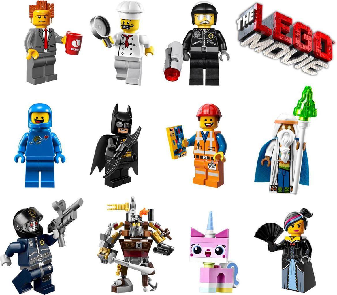 Lego movie 11 characters decal removable wall sticker home decor art emmet benny in home garden ebay