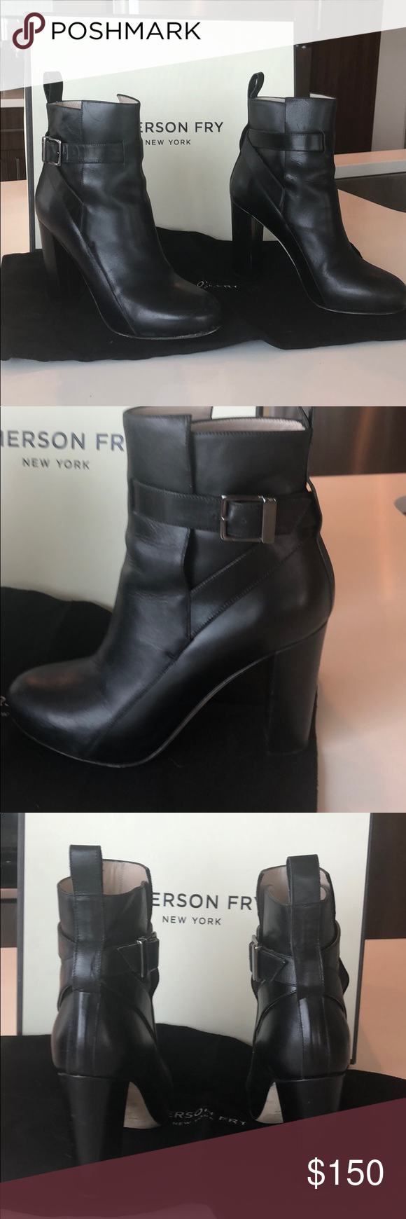 Black platform booties by Emerson Fry Black booties with built-in front platform.Gently used. Emerson Fry Shoes Ankle Boots & Booties #emersonfry Black platform booties by Emerson Fry Black booties with built-in front platform.Gently used. Emerson Fry Shoes Ankle Boots & Booties #emersonfry