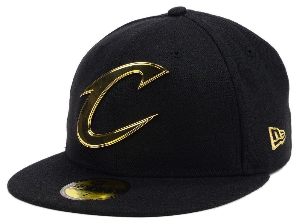 big sale d869d d2da6 Cleveland Cavaliers New Era NBA Current O Gold 59FIFTY Cap