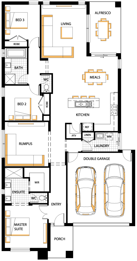 Aries floorplan