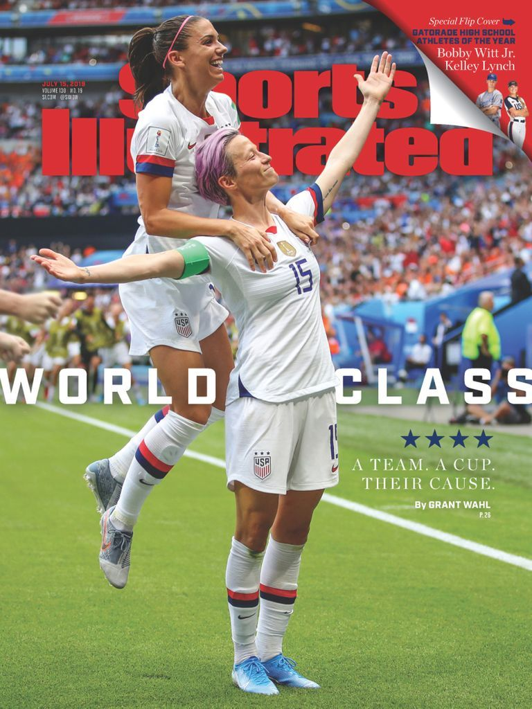 Sports Illustrated Back Issue July 15 2019 Digital In 2020 Usa Soccer Women Sports Illustrated Megan Rapinoe