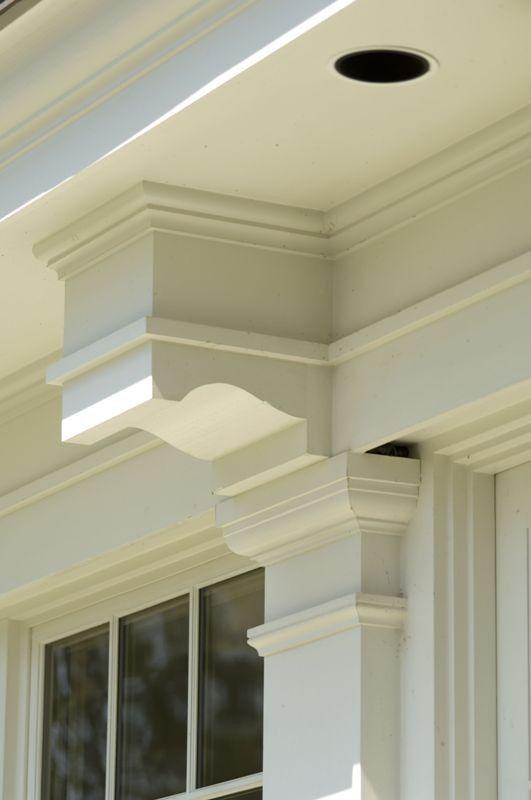 bracket details | {mom's house - exterior} | Renovation