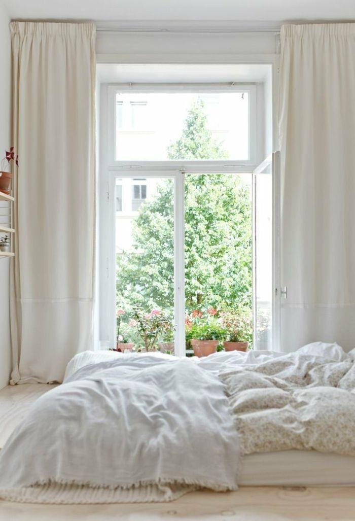Wandfarbe wei wohnideen schlafzimmer 700 for Wohnideen fenster