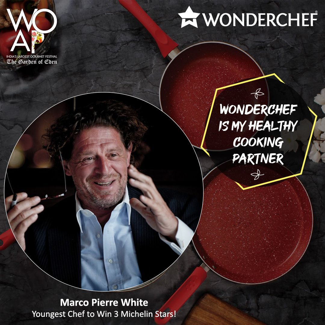 Chef Marco Pierre White The Youngest Chef To Be Awarded Three