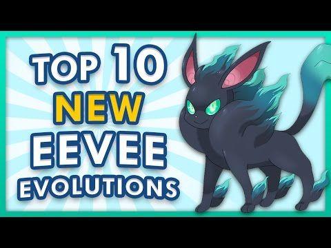 top eevee evolutions