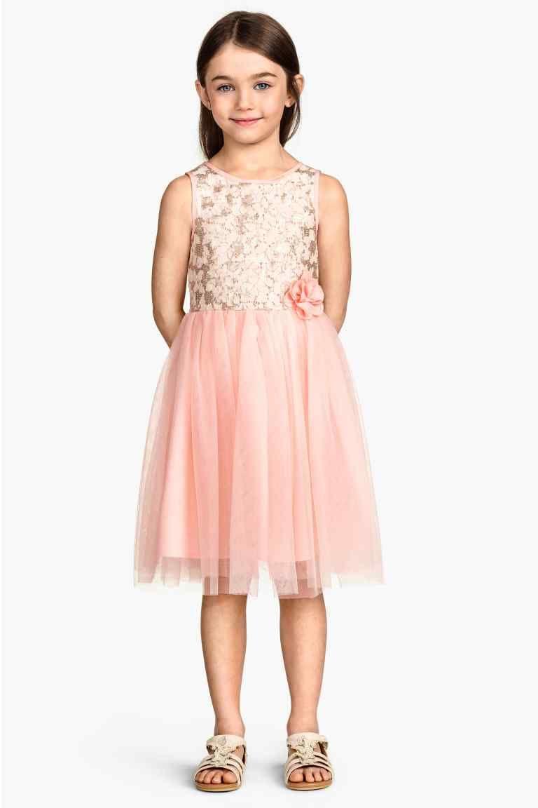 Vestido de tul | H&M | Vestidos para meninas | Pinterest | Vestido ...