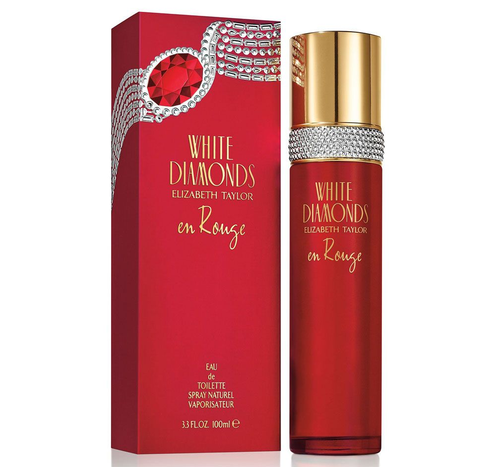 White Diamonds En Rouge is the Newest Fragrance in the