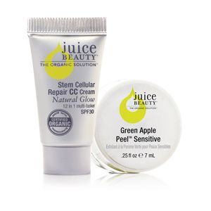Juice Beauty Gift With Purchase - Green Apple Peel and CC Cream Deluxe at DermStore  50.00
