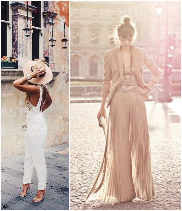 And The Bride Wore Trousers Jumpsuits For Weddingsbridesmaid
