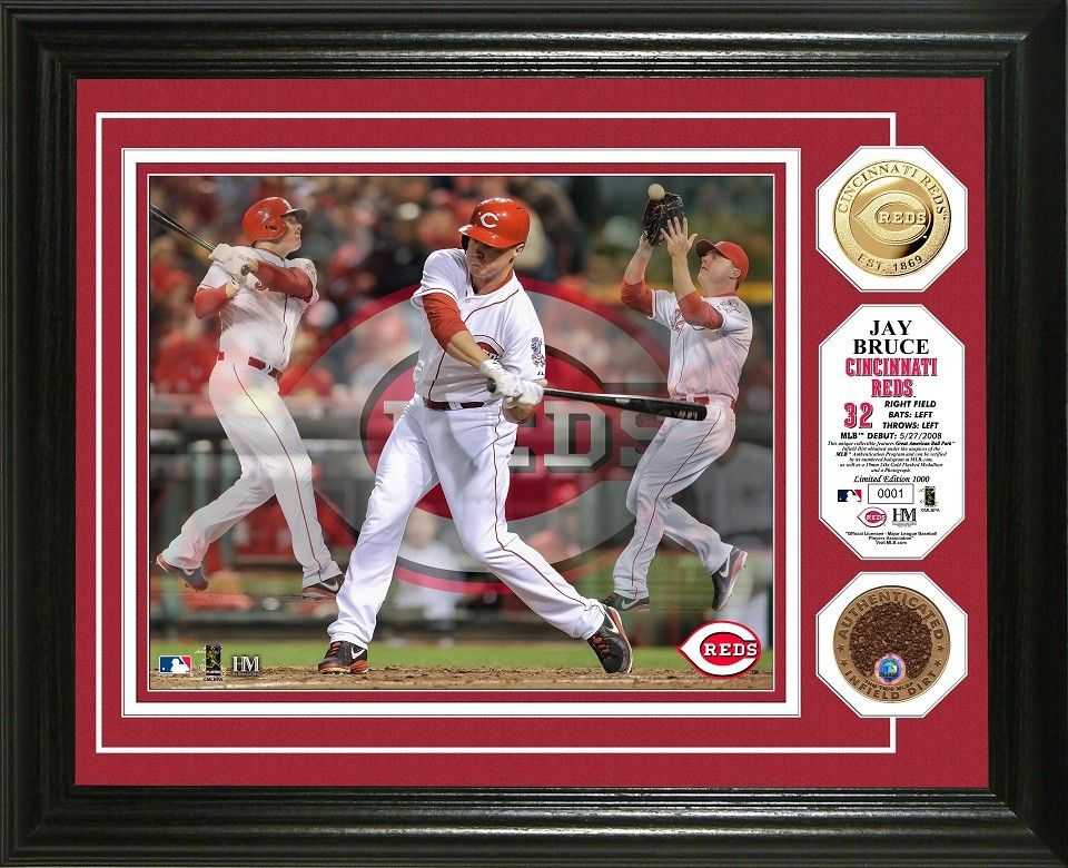 AAA Sports Memorabilia LLC Jay Bruce Cincinnati Reds