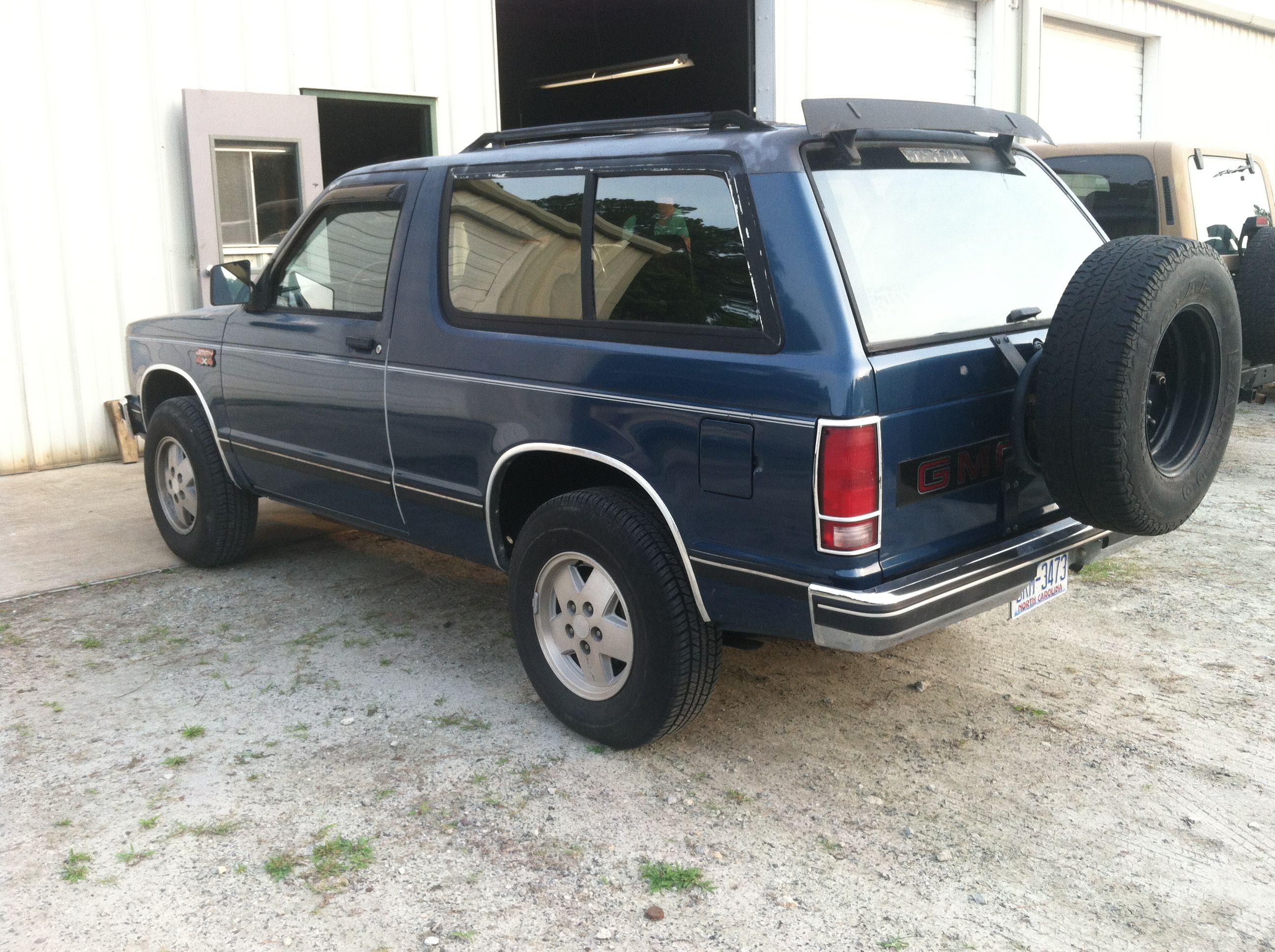 Just Bought This 1990 Gmc S15 Jimmy 4x4 Cold A C And 70 000