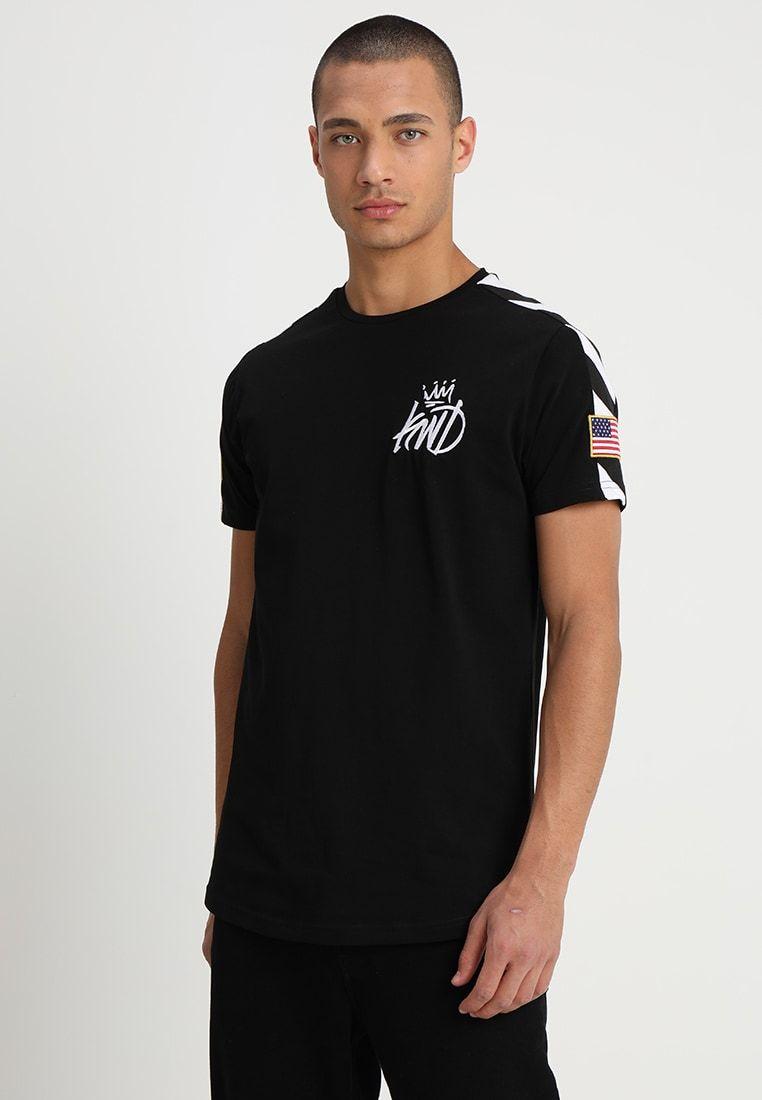 MONETA TEE T shirts print black @ Zalando.dk