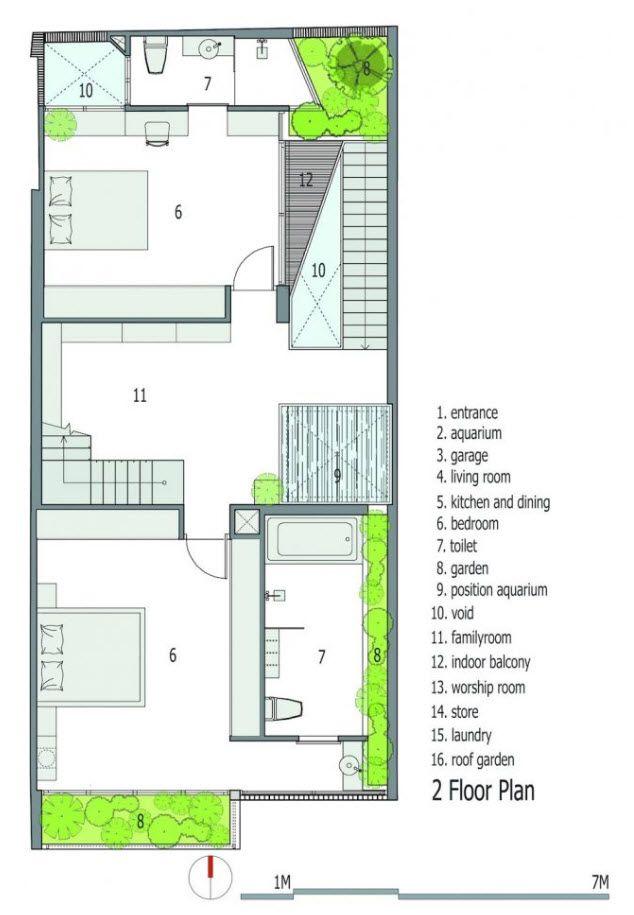Segunda planta arq interior en 2019 casas peque as for Diseno de apartamento en segunda planta