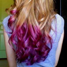 Which Kool Aid Will Dye Your Hair Teal Google Search Dip Dye Hair Hair Styles Hair