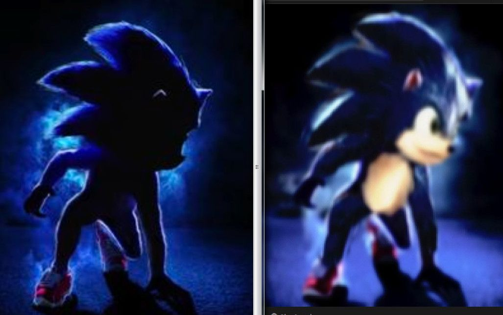 What Sonic In The New Movie May Look Like Sonic The Hedgehog