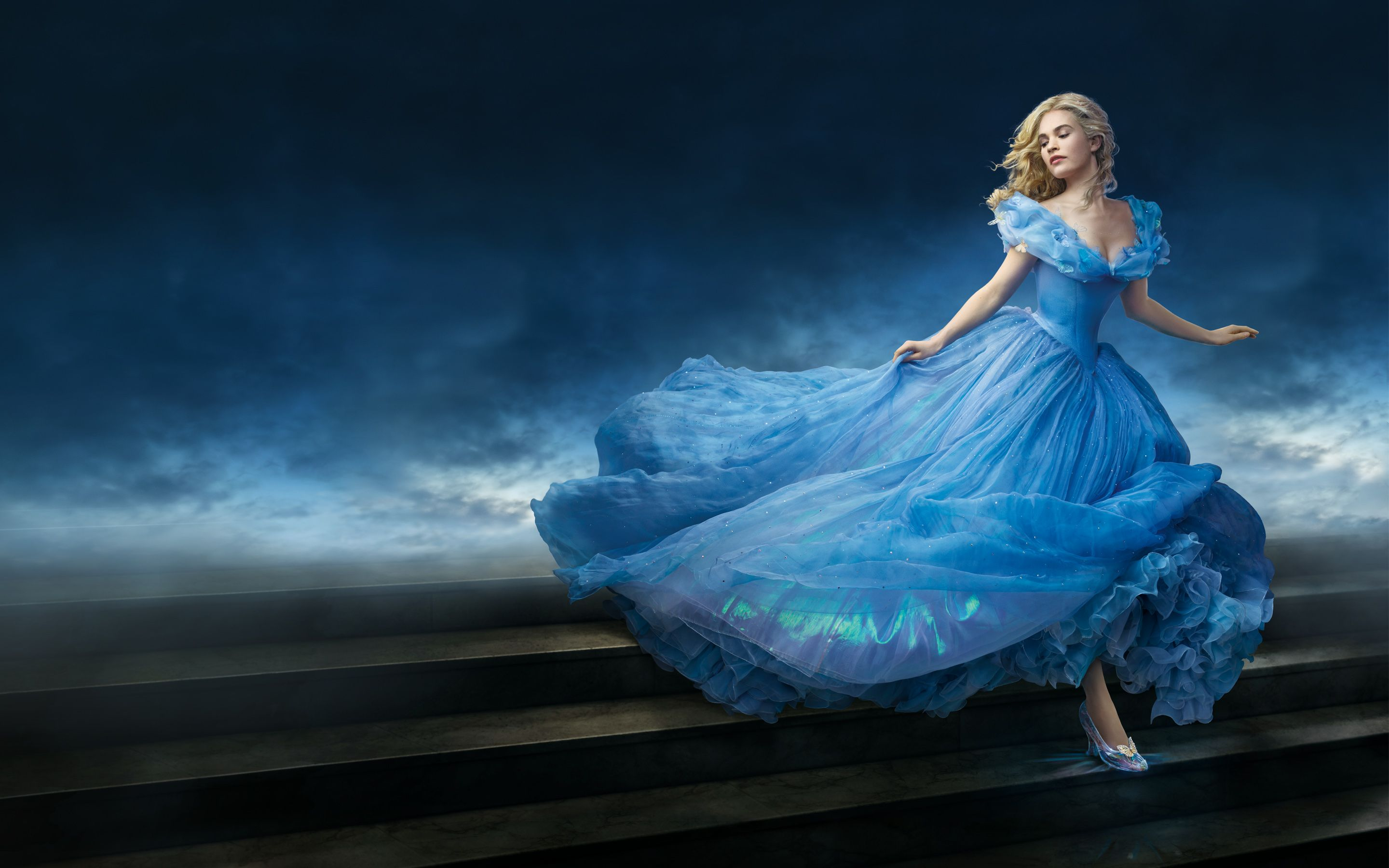Lily James As Cinderella 4233453 2880x1800 All For Desktop Cinderella Wallpaper Cinderella Movie Disney Princess Costumes