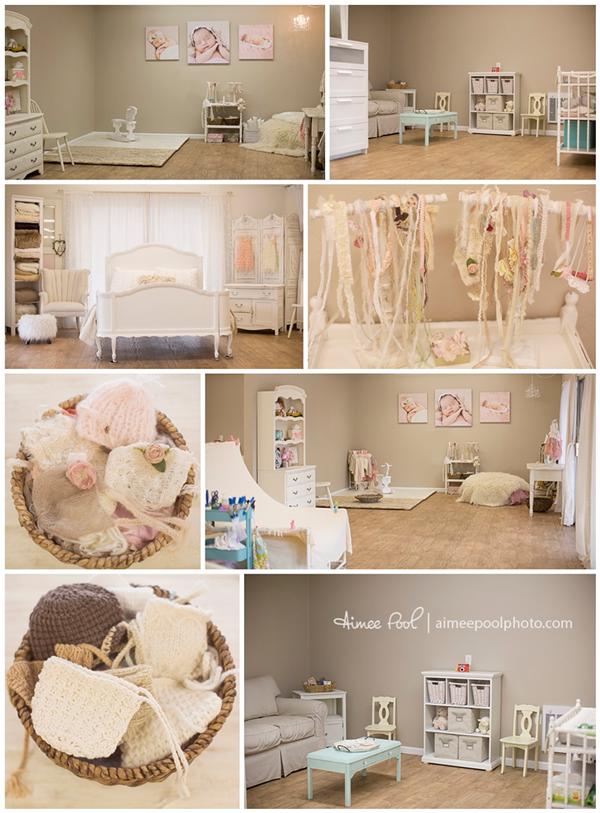 Newborn Photography Studio Ideas