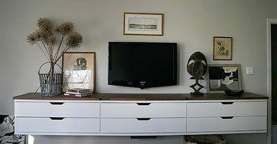 Shelves Wall Mounted Tv