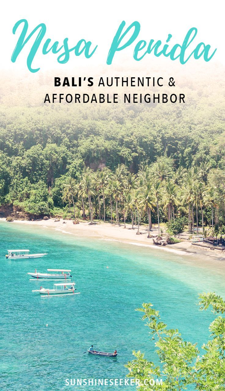 Experience the real Bali in Nusa Penida. Click through to see why you should visit Nusa Penida on your next trip to Indonesia.
