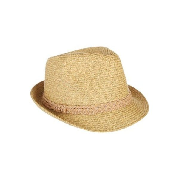 84ccca15eed Nine West Womens Packable Fedora Hat (185 SEK) ❤ liked on Polyvore  featuring accessories