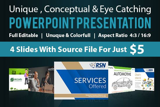 Design Creative And Professional Powerpoint Presentation By