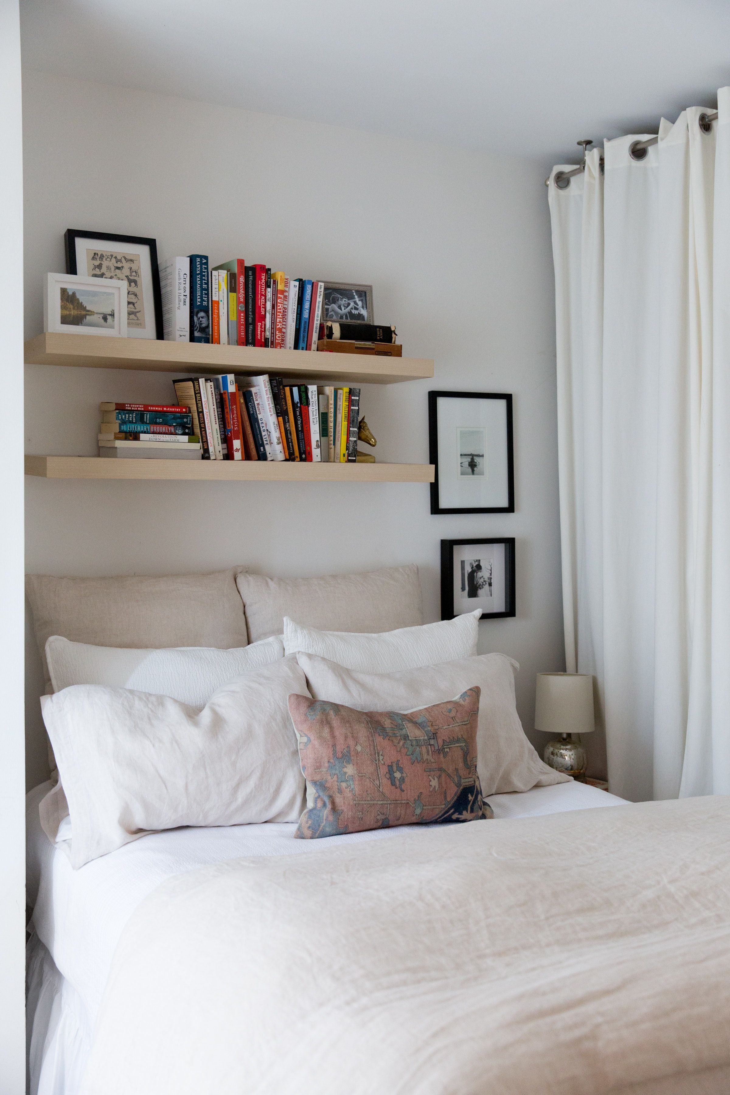 Small Space Storage Ideas From A Brooklyn Apartment Apartment Therapy Small Apartment Bedrooms Small Bedroom Designs Remodel Bedroom