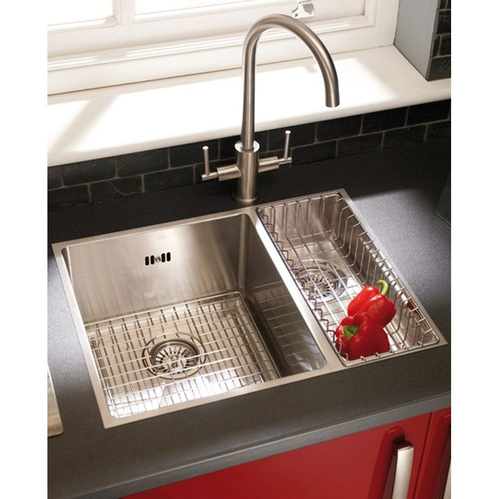 stainless steel kitchen sink inserts