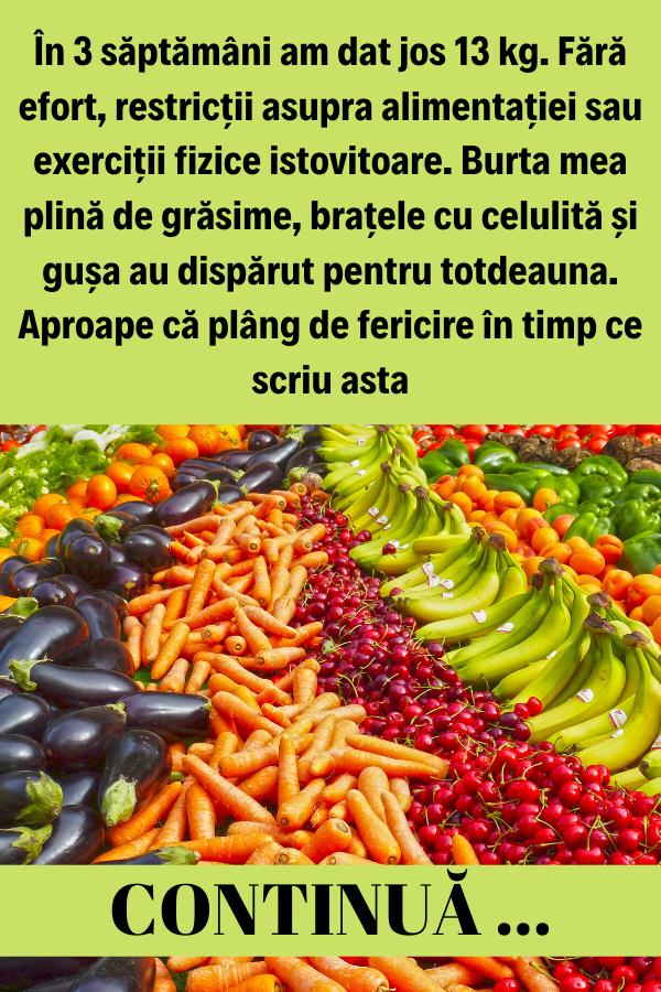 Cum poţi slăbi natural şi sănătos | Ruxandra Constantina | boldcharts.ro
