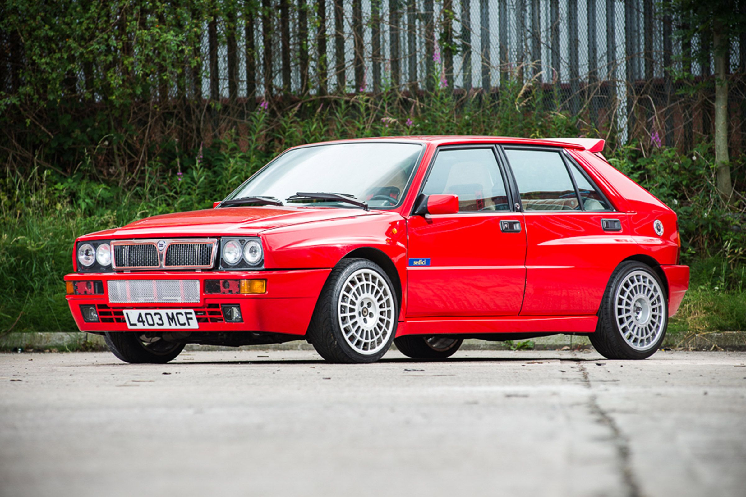 Jay Kay's Lancia Delta Integrale comes up for sale