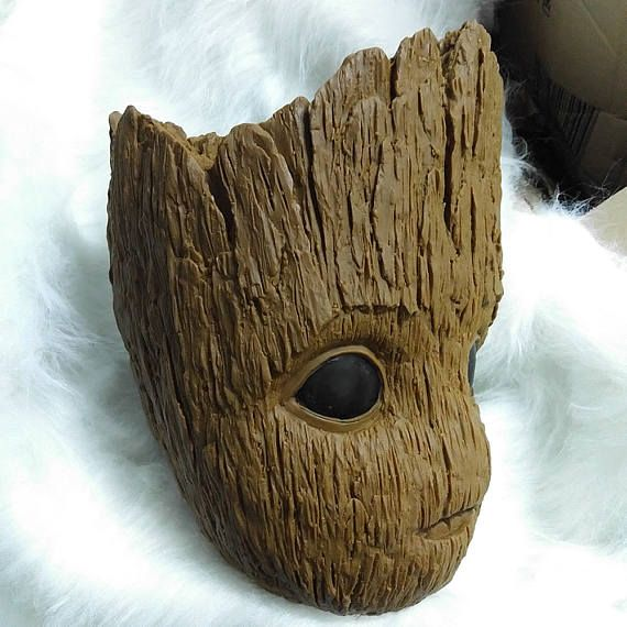 2018 Baby Groot Mask Cosplay Guardians of the Galaxy Vol 2 Mask Halloween Masks