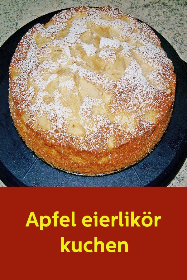 Apfel eierlikör kuchen - Finomságok a konyhából -