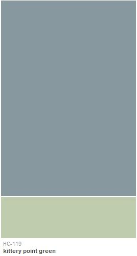 Benjamin Moore Van Courtland Blue As Seen On Parenthood Master Bedroom And Green For