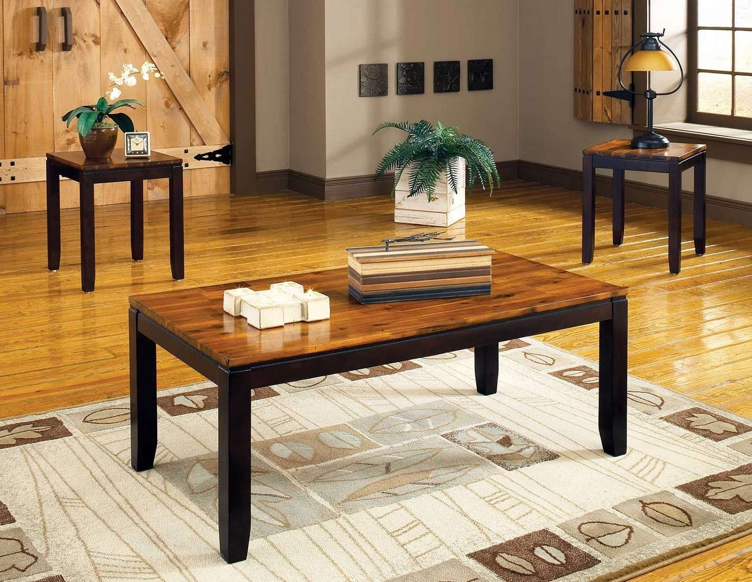 3 Piece Table Set For Living Room Furniture Made In Turkey 2 Designer Ffo Home Coffee Accent Tables
