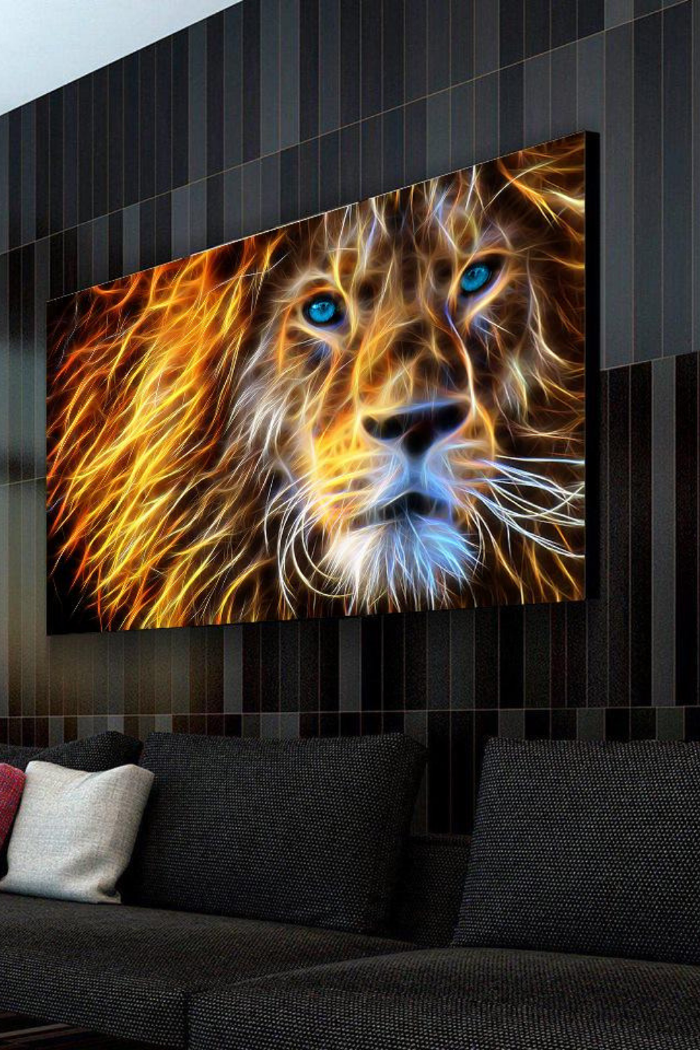 King Of Light Canvas Set in 2019 | Canvas | Lighted canvas