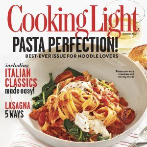 Cooking Light Magazine, March 2013 (searchable Index Of Recipes) # Ashley  Erin Mayer
