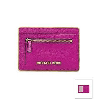 1bf3f9224a9a MICHAEL Michael Kors® Jet Set Flat Card Holder at www.bonton.com ...
