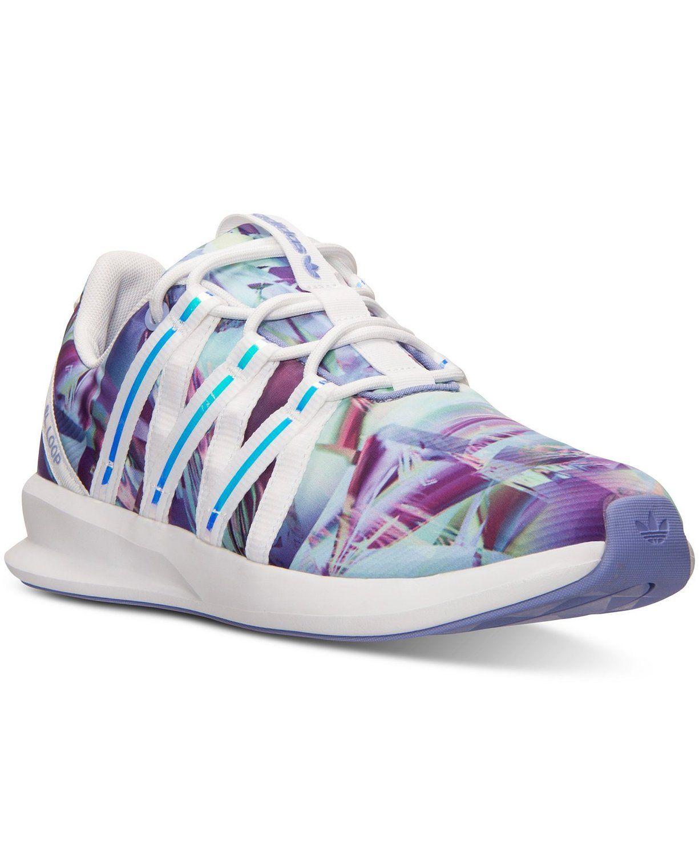 769dd08b184a adidas Originals SL LOOP Racer W Mesh Q16030 White light Purple Women s  Shoes (size 6)