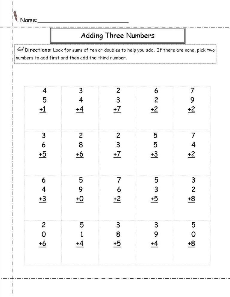 Free Basic Math Worksheets Grade Math Free Math Worksheets Basic Math Worksheets 2nd Grade Worksheets