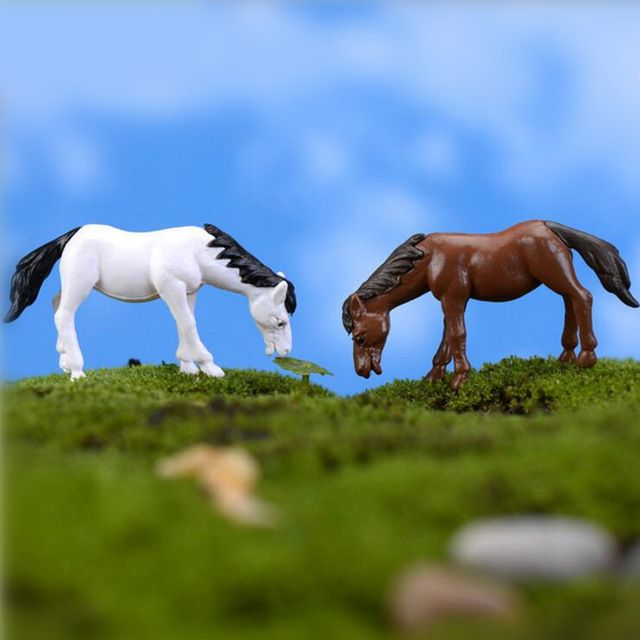 Cheap Ornaments Garden, Buy Quality Garden Ornaments Directly From China  Decorative Garden Ornaments Suppliers: Hot Signs Portal Mini Horse Ornament  Garden ...