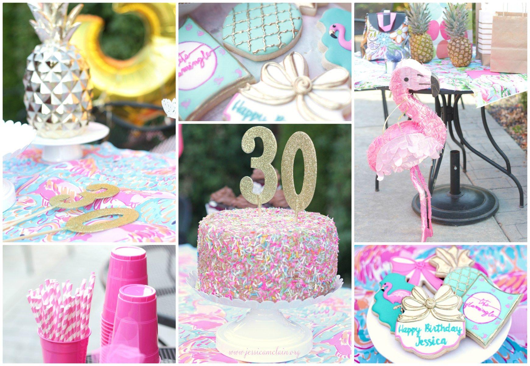 Jessica S 30 Let S Flamingle Flamingle Party Flamingo