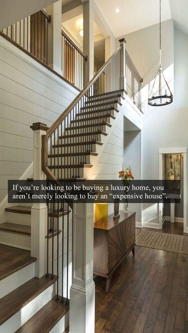 Best What You Can Expect From A Luxury Home Diy Stair Railing 400 x 300