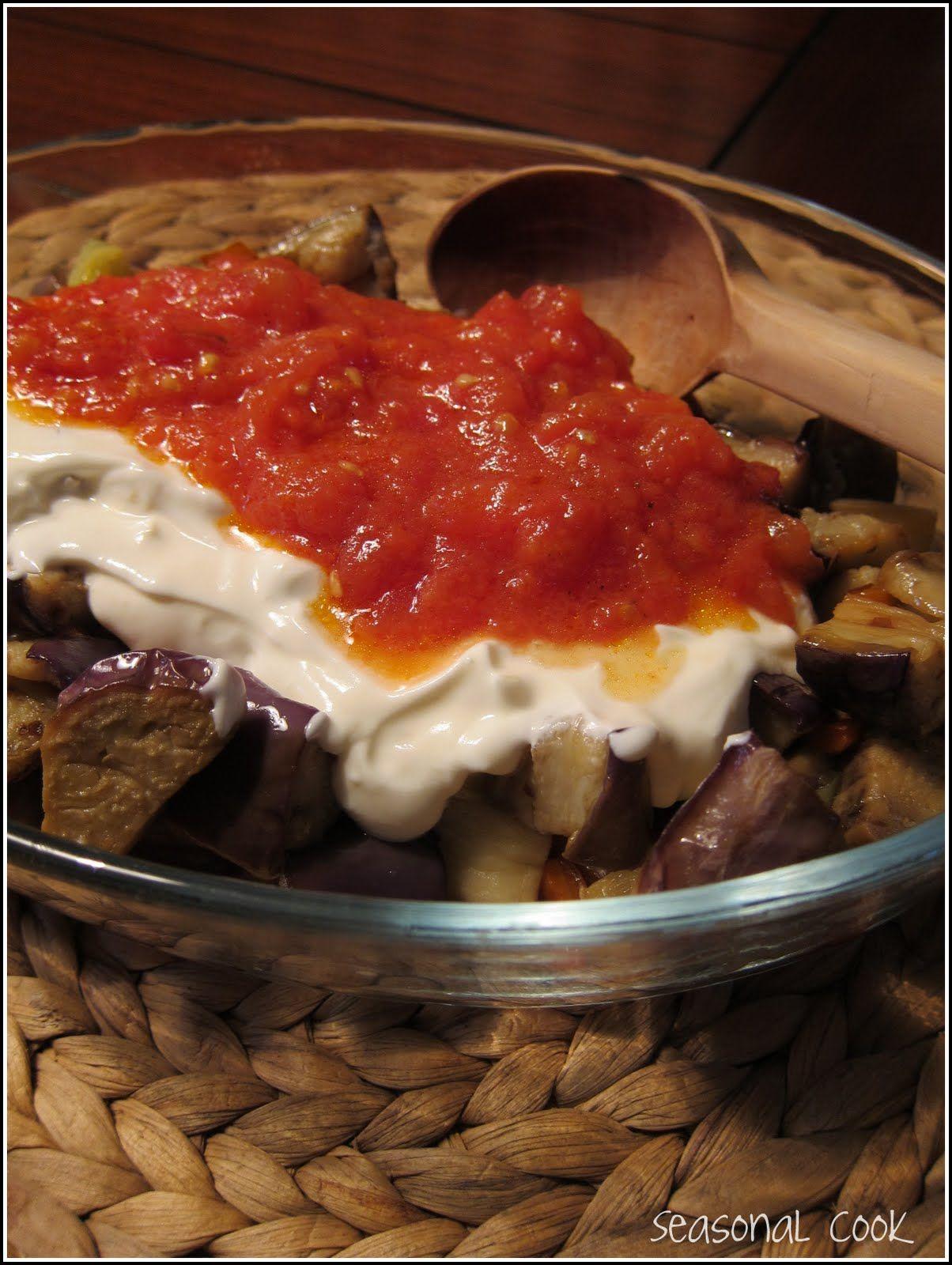 A Seasonal Cook in Turkey Shakshuka an Aubergine Meze