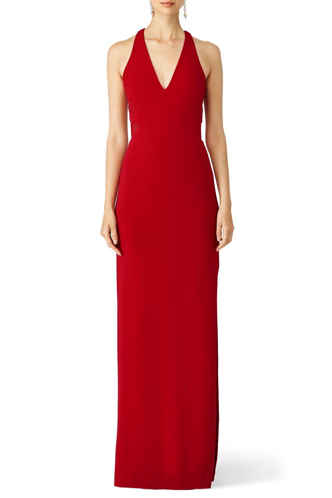 Red Deep Love Gown | Modern Style Board | Pinterest | Nicole miller ...