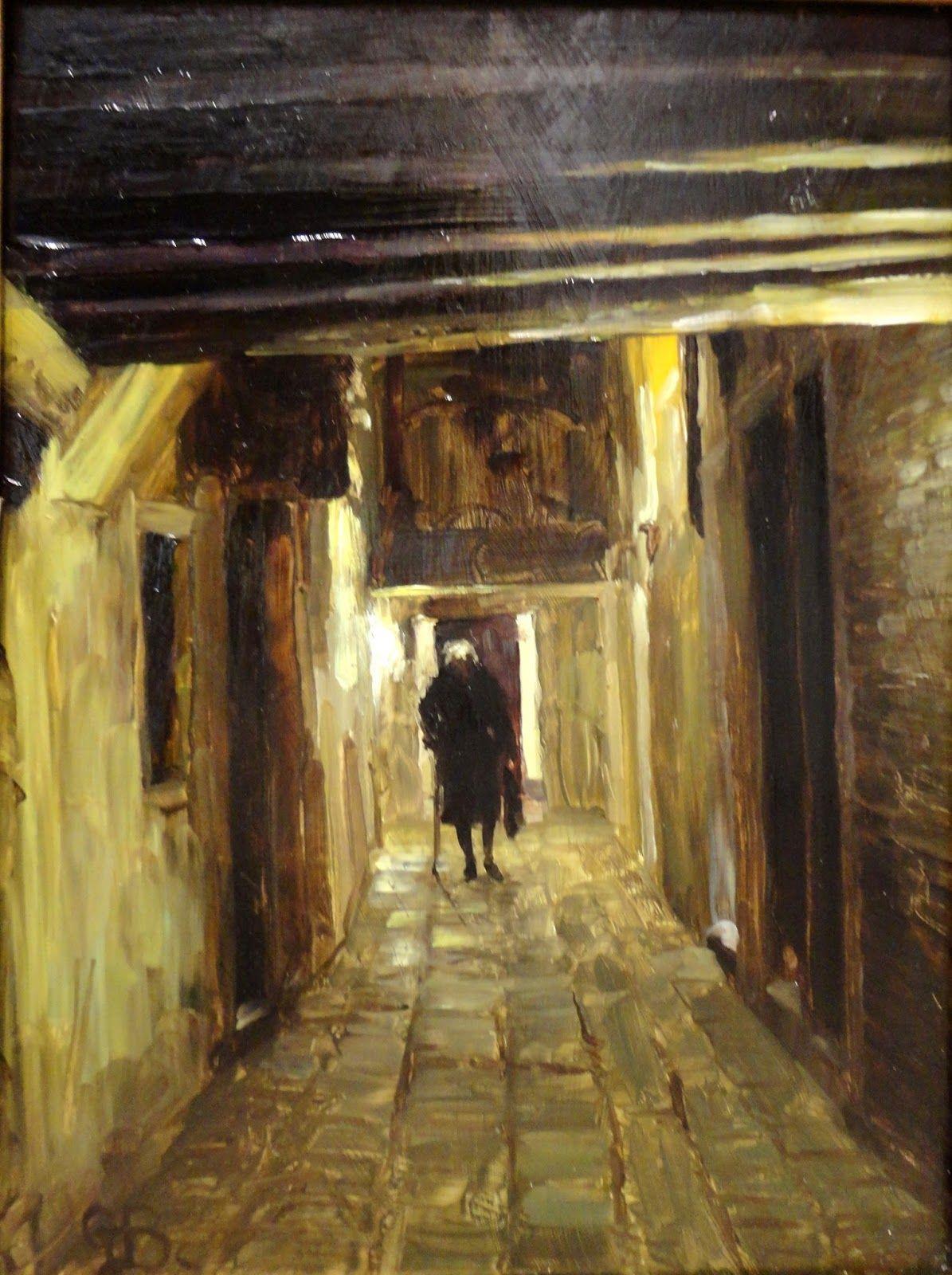 George Bodine | Figurative / Cityscape painter | Tutt'Art@ | Pittura * Scultura * Poesia * Musica |